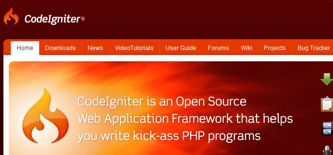 CodeIgniter - Website