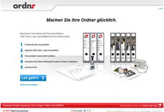 Ordnr - Homepage